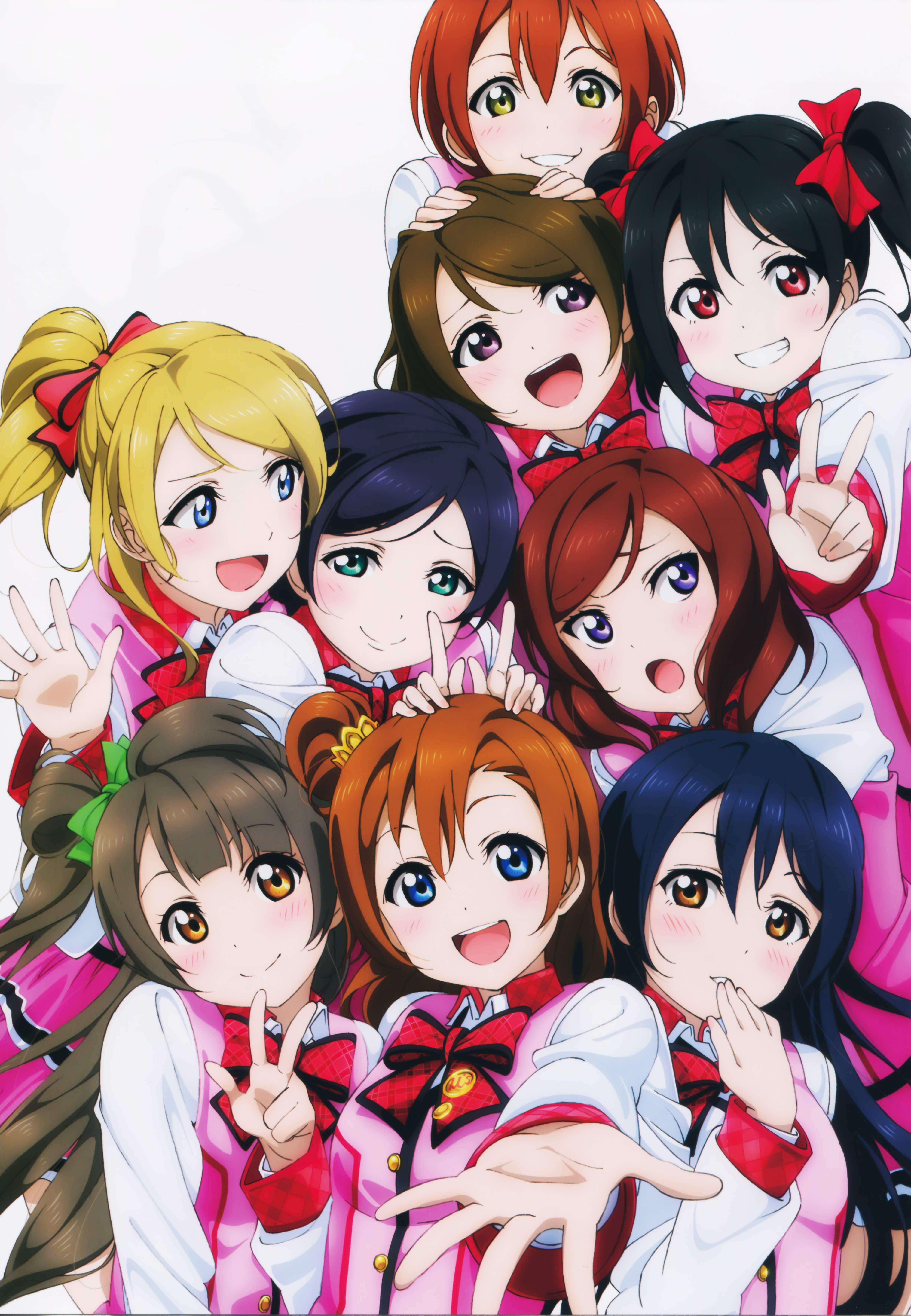 M S Love Live Mobile Wallpaper 1769076 Zerochan Anime Image