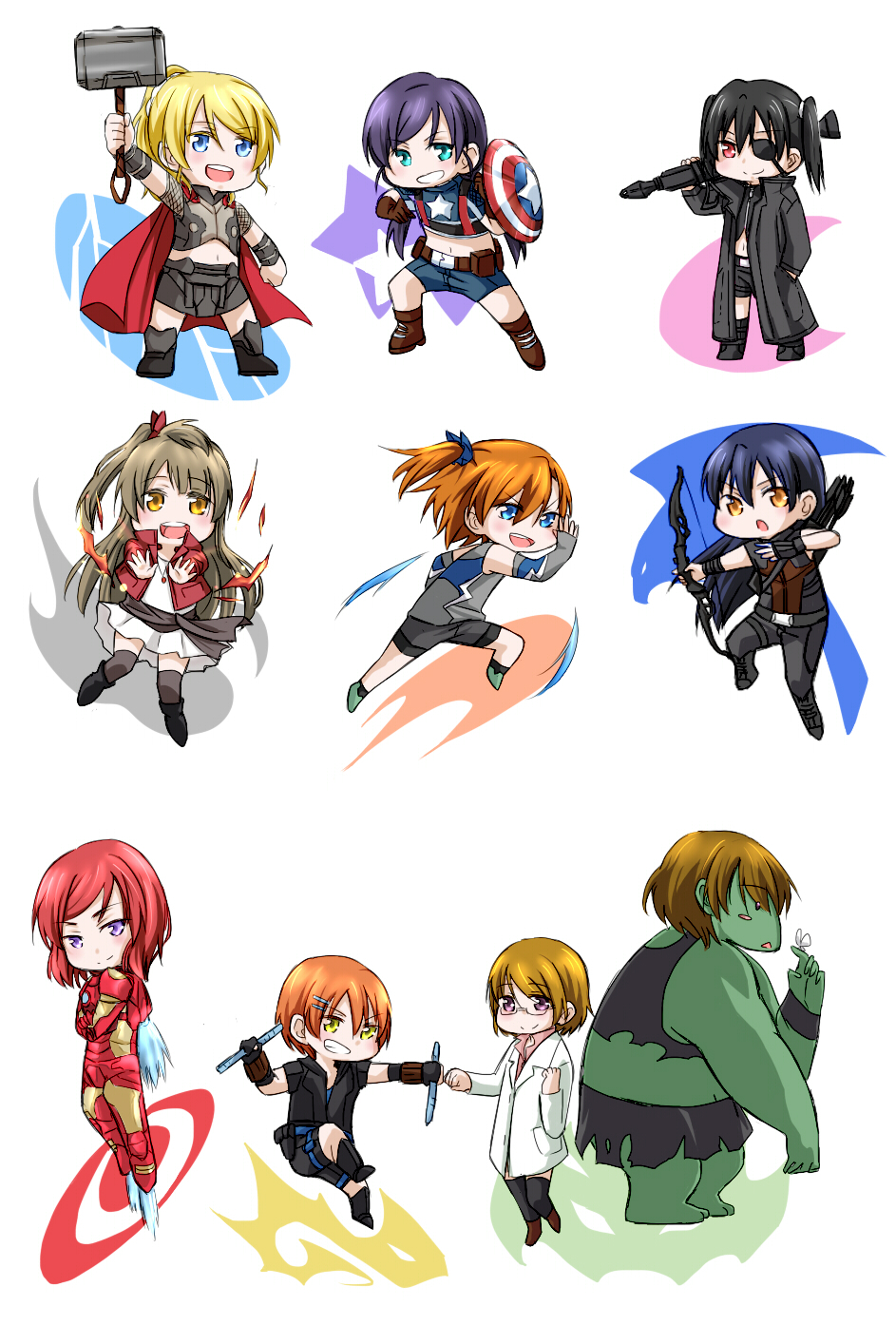 The Avengers Parody Zerochan Anime Image Board Marvel and fate/stay night crossovers. the avengers parody zerochan anime
