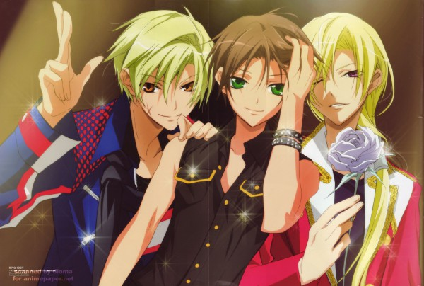 Tags: Anime, 07-ghost, Teito Klein, Mikage, Hakuren Oak