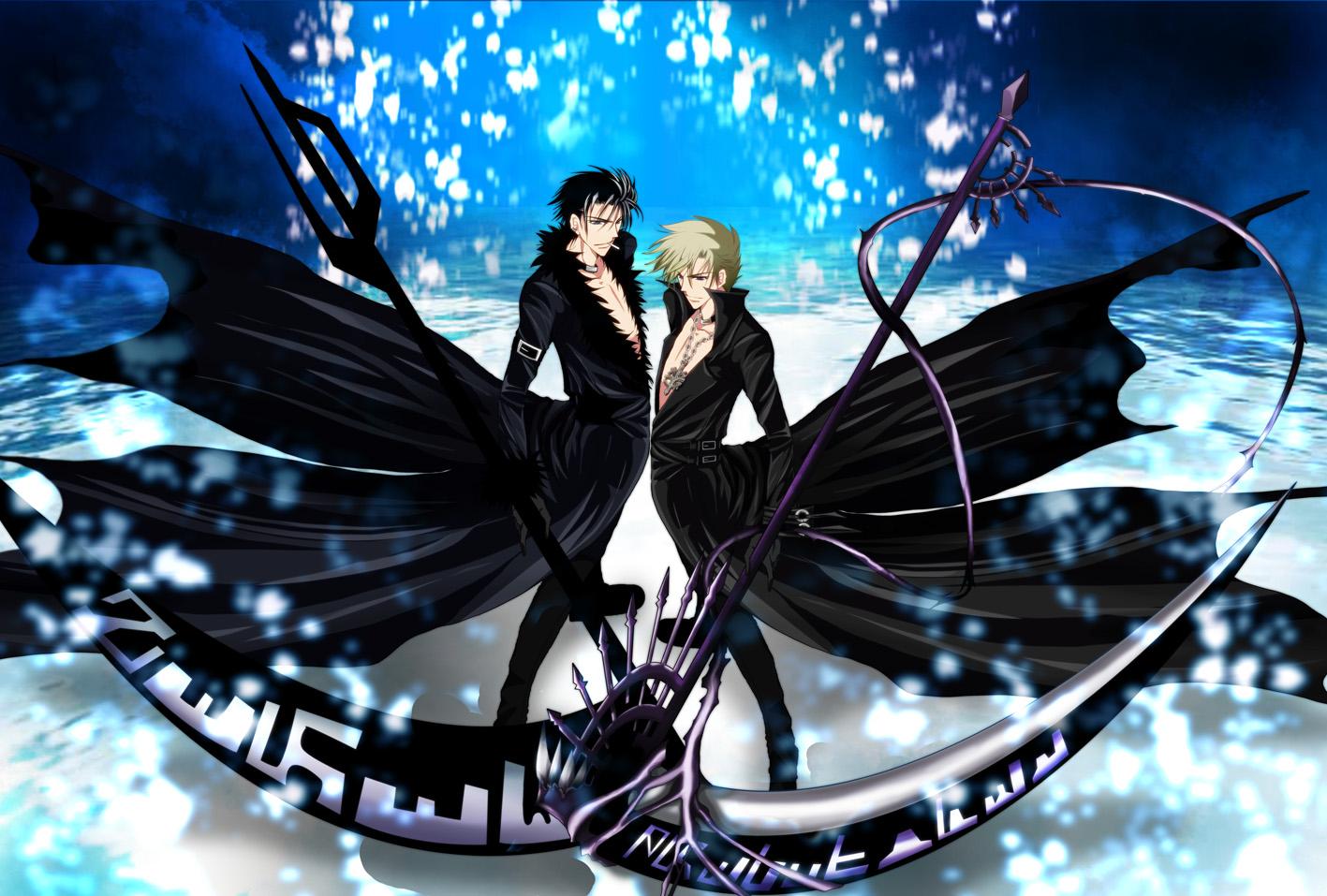 07 ghost fanart zerochan anime image board - Anime scythe wallpaper ...