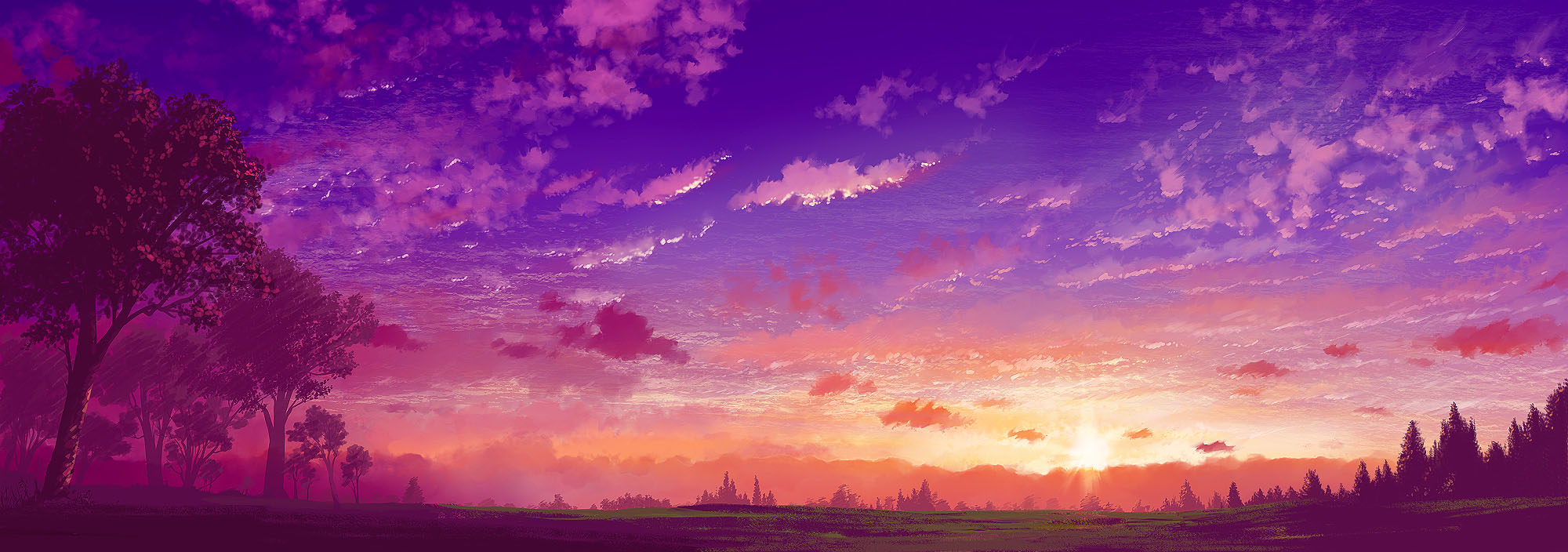 Anime Scenery Forest Tags Anime  108  artist