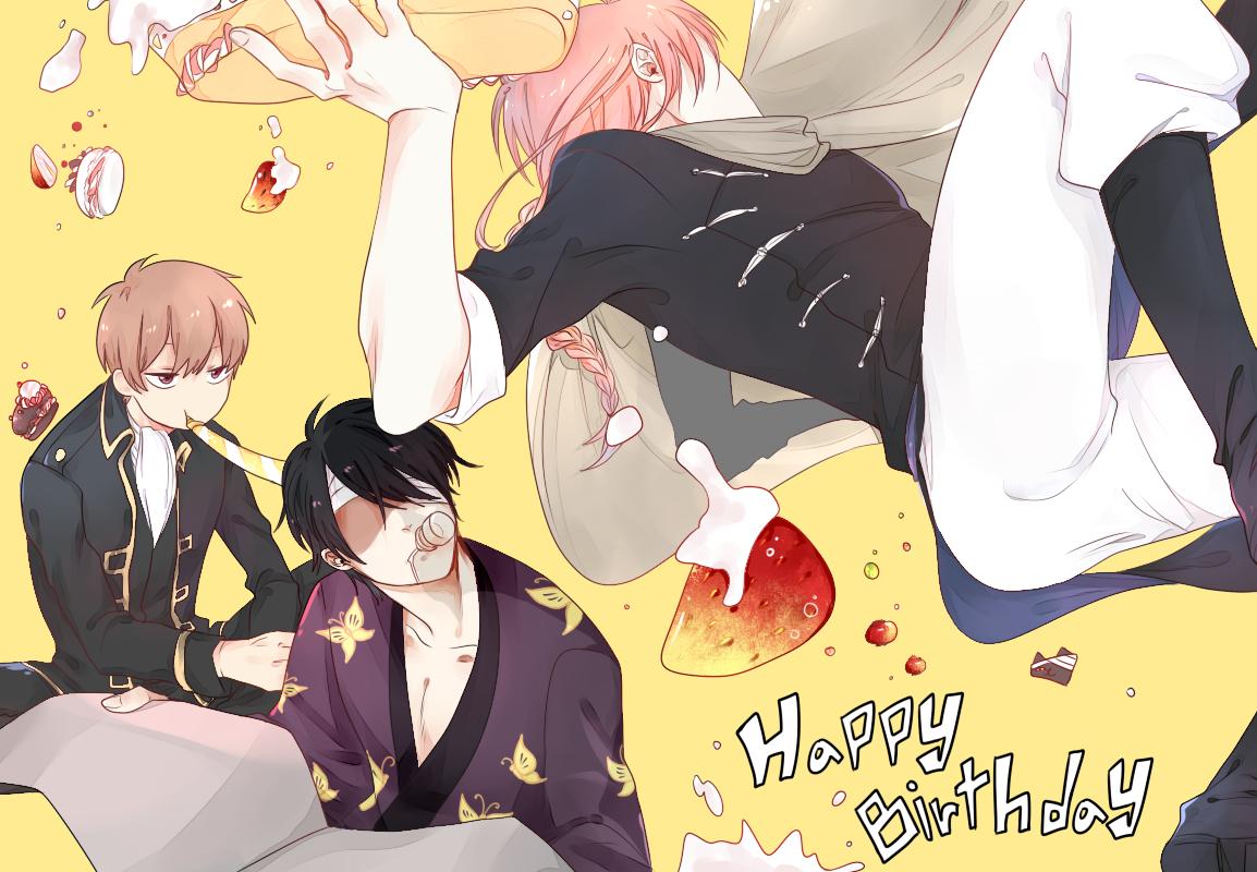 Anime Characters 170 Cm : Cm trio gintama image zerochan anime