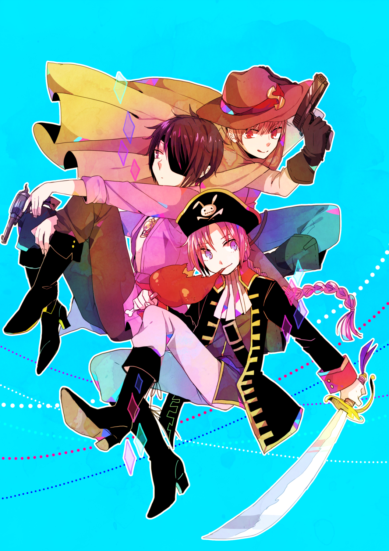 Anime Characters 170 Cm : Cm trio gintama page of zerochan anime image