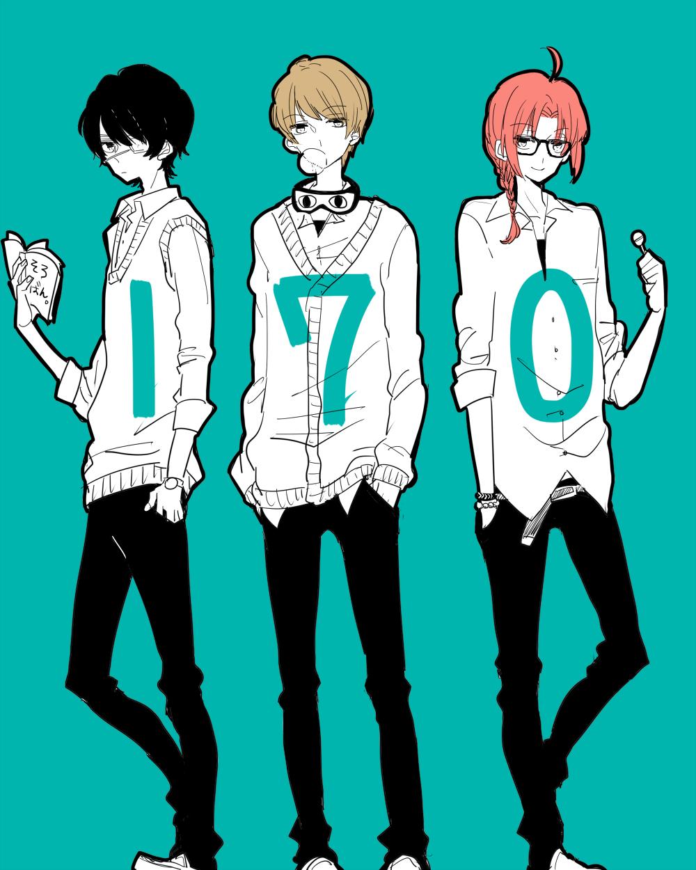 Anime Characters 169 Cm : Cm trio gintama image zerochan anime