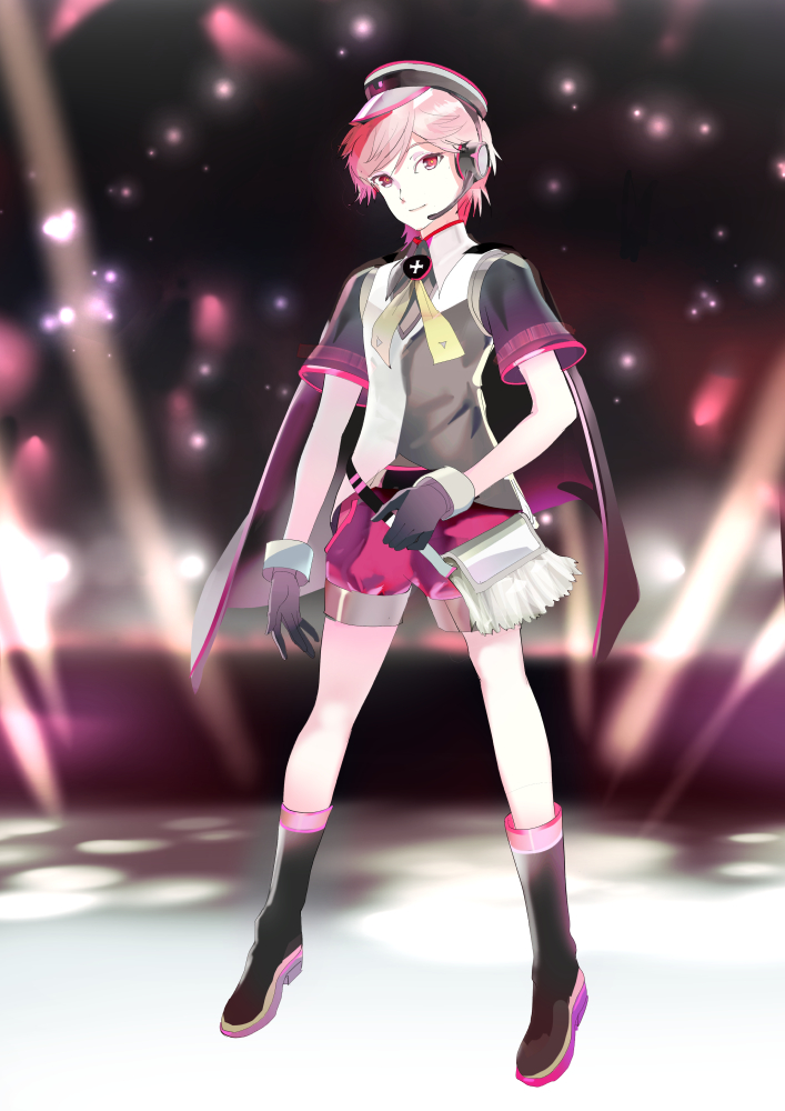 Anime Character Design Contest : Vocaloid library fukase character design contest