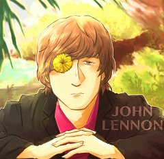 John Lennon Fanart Zerochan Anime Image Board