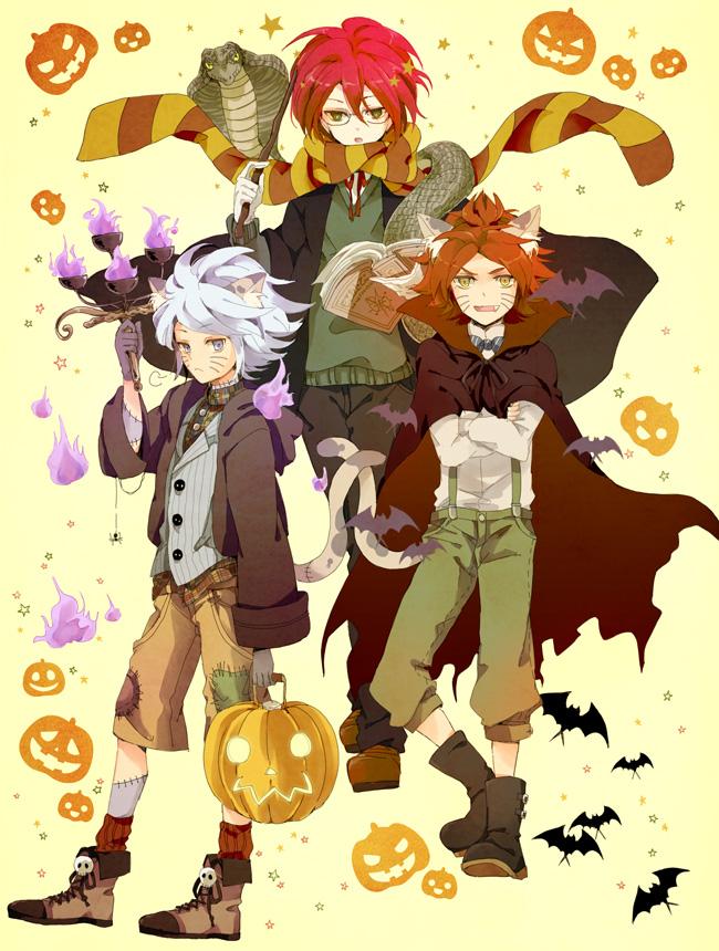 Tags: Anime, Masui, Inazuma Eleven, Nagumo Haruya, Kiyama Hiroto, Suzuno Fuusuke, Fanart From Pixiv, Pixiv, Fanart, 3top
