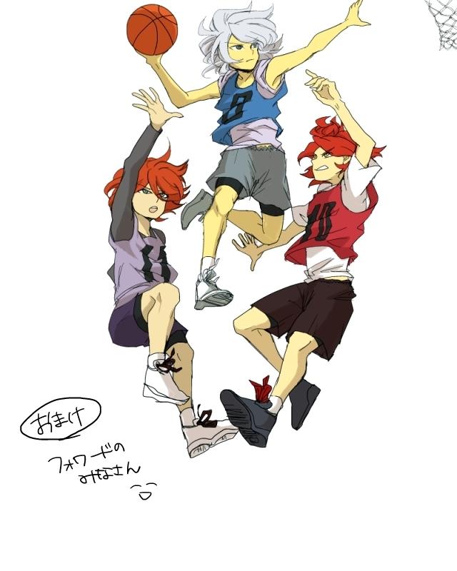 Tags: Anime, Mitsuharu Runta, Inazuma Eleven, Kiyama Hiroto, Suzuno Fuusuke, Nagumo Haruya, Basketball Shoes, Pixiv, Fanart, 3top