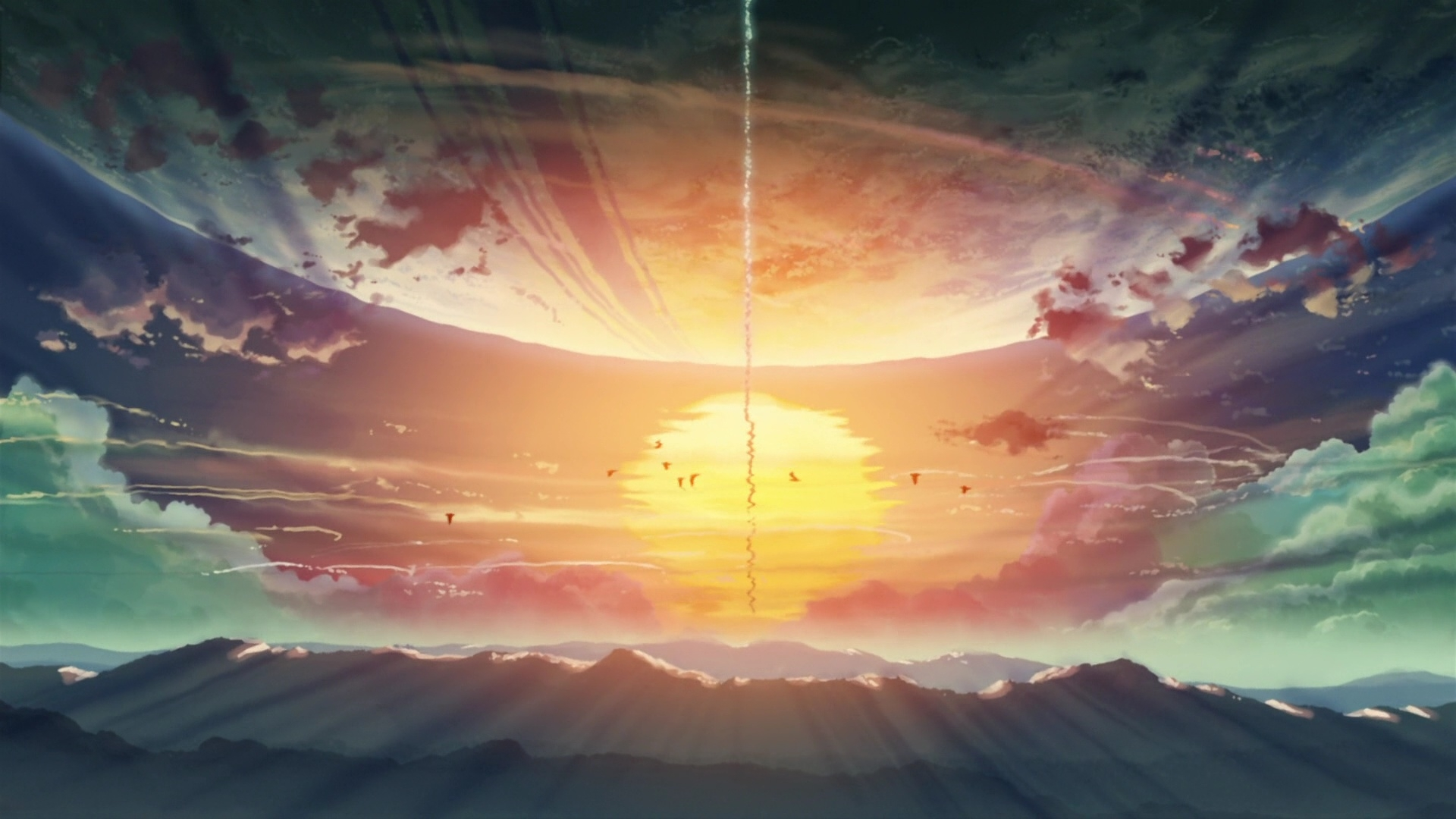 5 Centimeters Per Second Wallpaper Zerochan Anime Image Board
