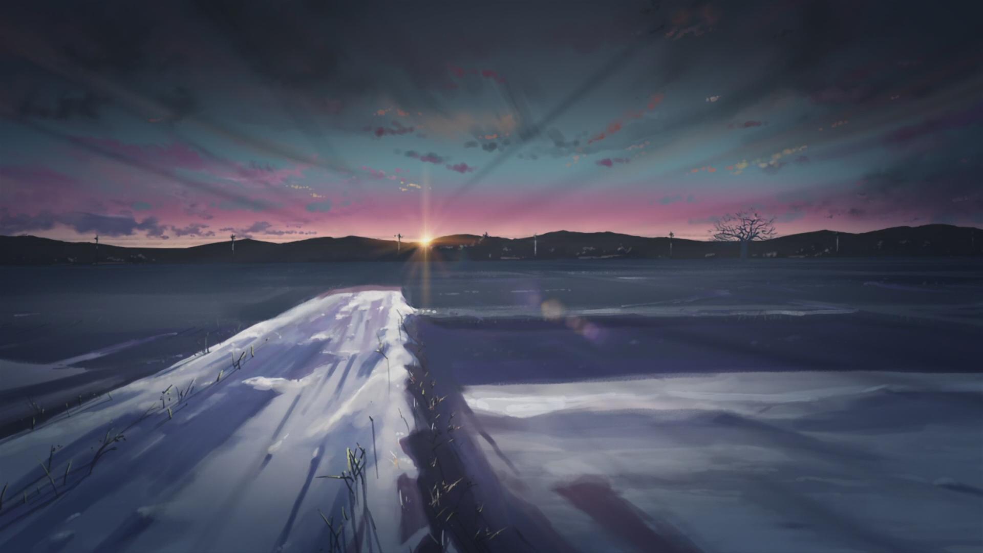 5 Centimeters Per Second Makoto Shinkai Hd Wallpaper 162805