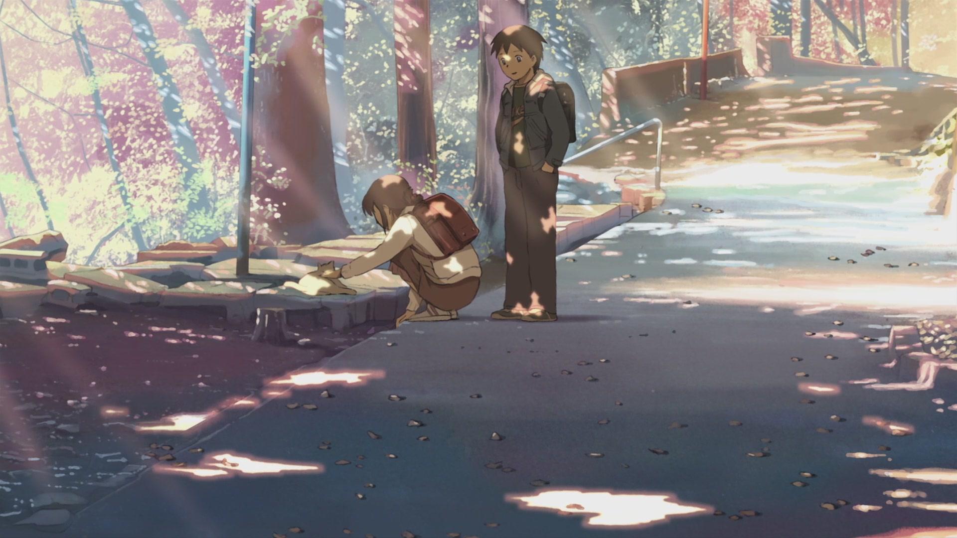 Risultati immagini per 5 cm per second shinkai anime