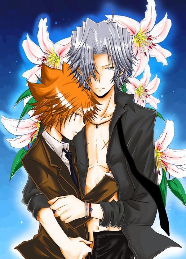Tags: Anime, Katekyo Hitman REBORN!, Sawada Tsunayoshi, Gokudera Hayato, 5927 (Pairing)
