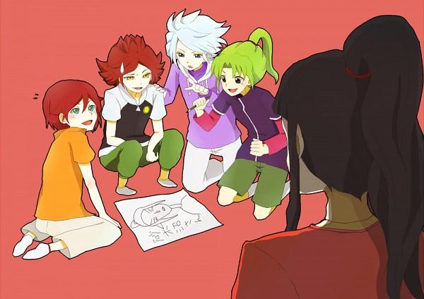 Tags: Anime, Inazuma Eleven, Midorikawa Ryuuji, Kiyama Hiroto, Suzuno Fuusuke, Nagumo Haruya, Saginuma Osamu