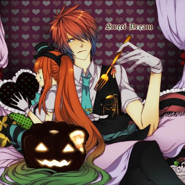 Tags: Anime, Hatsune Miku, Vocaloid, KAITO, Pixiv