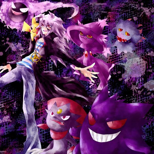 Tags: Anime, Yu-Gi-Oh!, Yami Bakura, Pokémon, Pikachu