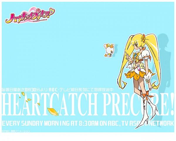 Tags: Anime, Wallpaper, Heartcatch Precure!, Cure Sunshine, Myoudouin Itsuki