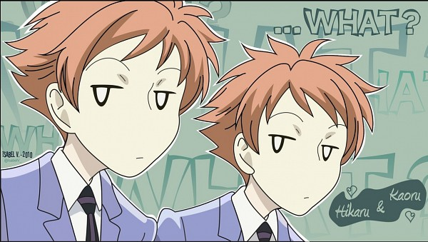 Tags: Anime, Ouran High School Host Club, Hitachiin Kaoru, Hitachiin Hikaru, Hitachiin Twins