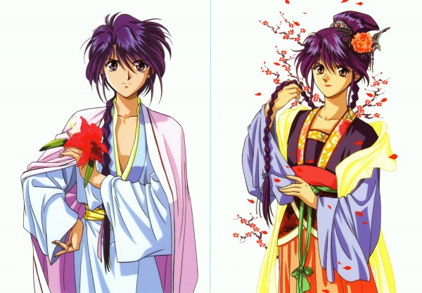 Tags: Anime, Fushigi Yuugi, Nuriko, Official Art