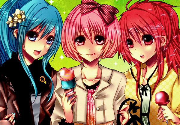 Tags: Anime, Giggles (htf), Happy Tree Friends, Flaky, Petunia (htf)