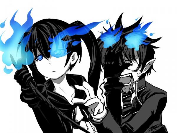 Tags: Anime, Fanart, Wallpaper, Black★Rock Shooter, Pixiv