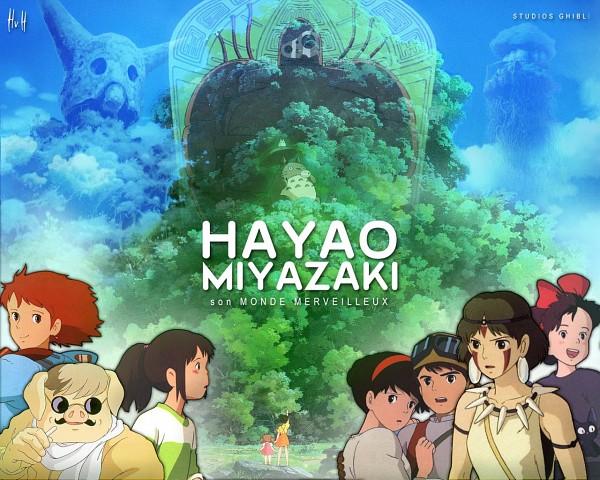 Les chef-d'ouvre d'Hayao Miyazaki 803508