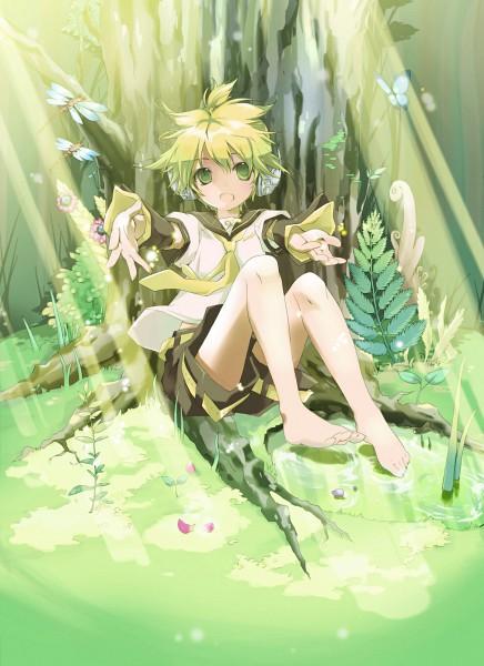 Tags: Anime, Vocaloid, Kagamine Len, Pixiv, Hekicha