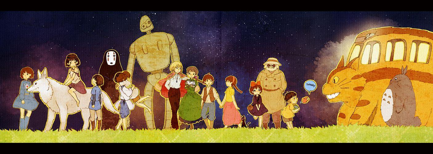 Les chef-d'ouvre d'Hayao Miyazaki 860911