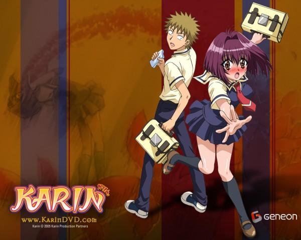 Tags: Anime, Chibi Vampire, Karin Maaka, Kenta Usui