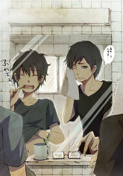 Tags: Anime, Ao No Exorcist, Okumura Rin, Okumura Yukio, Pixiv Id 1177786
