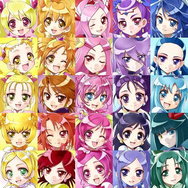 Tags: Anime, Fanart, Kasugano Urara, Yumehara Nozomi, Cure Black