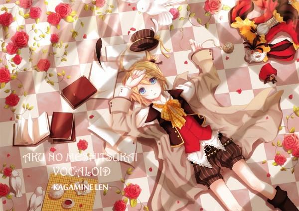 Tags: Anime, Vocaloid, Kagamine Len, Pixiv Id 500598
