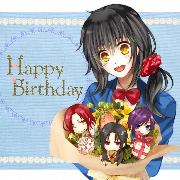 Anime Happy Birthday Cards