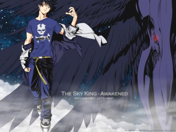 Tags: Anime, Air Gear, Wallpaper, Oh! Great, Itsuki Minami