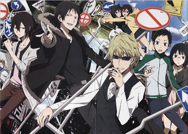 Tags: Anime, Scan, Durarara!!, Orihara Izaya, Sonohara Anri