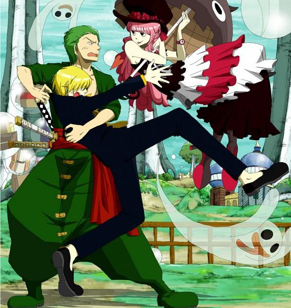Tags: Anime, One Piece, Sanji, Zoro, Straw Hat Pirates