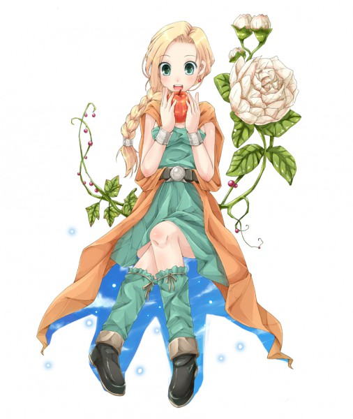 Tags: Anime, Square Enix, Dragon Quest Series, Dragon Quest V, Bianca