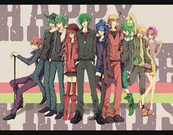 Tags: Anime, Giggles (htf), Happy Tree Friends, The Mole (htf), Flaky