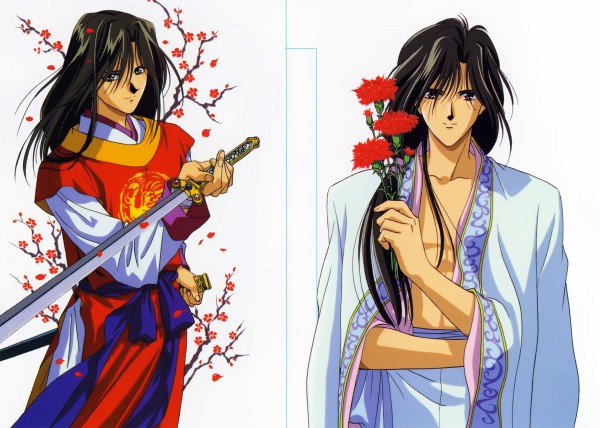 Tags: Anime, Fushigi Yuugi, Hotohori, Official Art