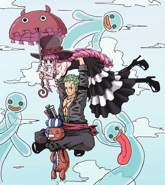 Tags: Anime, One Piece, Zoro, Straw Hat Pirates, Perona