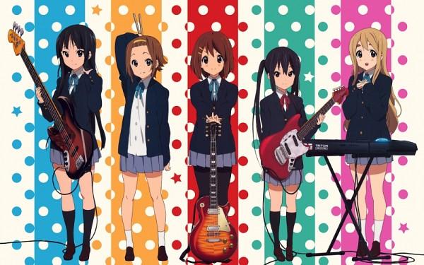 Tags: Anime, K-ON!, Hirasawa Yui, Akiyama Mio, Kotobuki Tsumugi