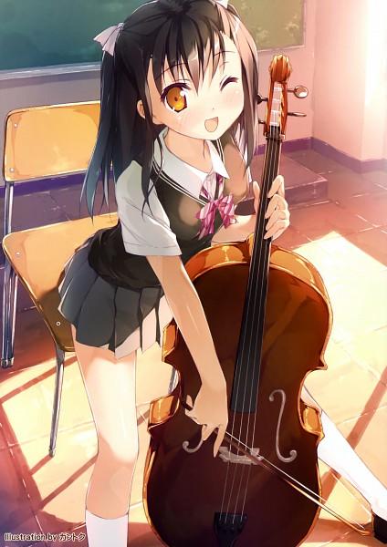 Tags: Anime, Kantoku, Pixiv, E☆2 Etsu - Musical Instruments Girls