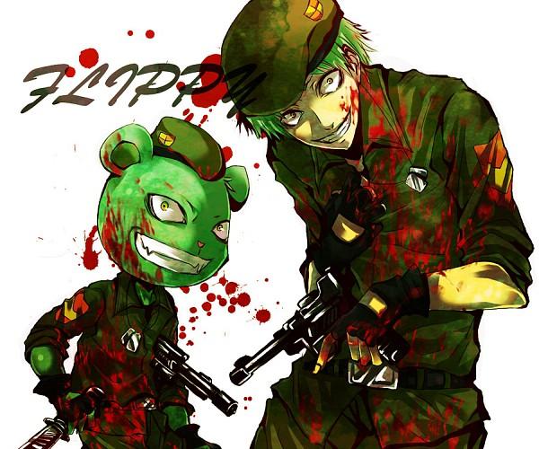 Tags: Anime, Happy Tree Friends, Flippy