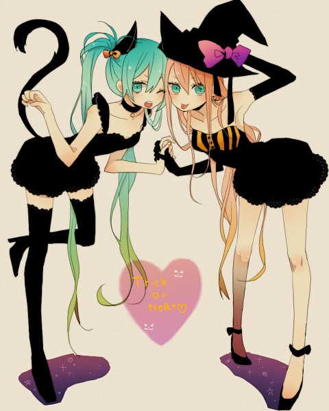 Tags: Anime, Fanart, Hatsune Miku, Vocaloid, Megurine Luka