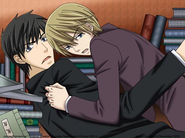 Tags: Anime, Wallpaper, Junjou Romantica, Miyagi You, Takatsuki Shinobu