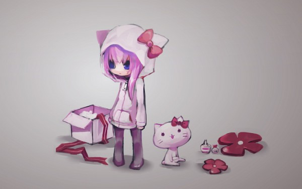 Tags: Anime, Vocaloid, Megurine Luka, Hello Kitty, Sanrio