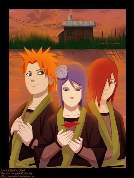 Tags: Anime, Akatsuki, Naruto, Konan, Yahiko