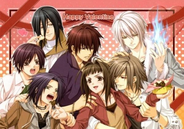 Tags: Anime, Hiiro no Kakera, Idea Factory, Kazuki Yone, Kasuga Tamaki