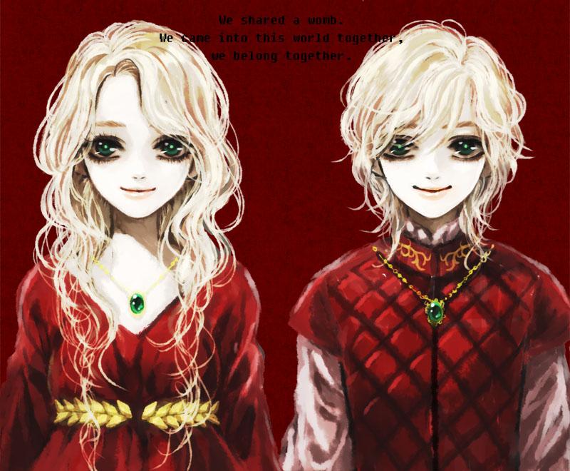 Девочки аниме блондинки