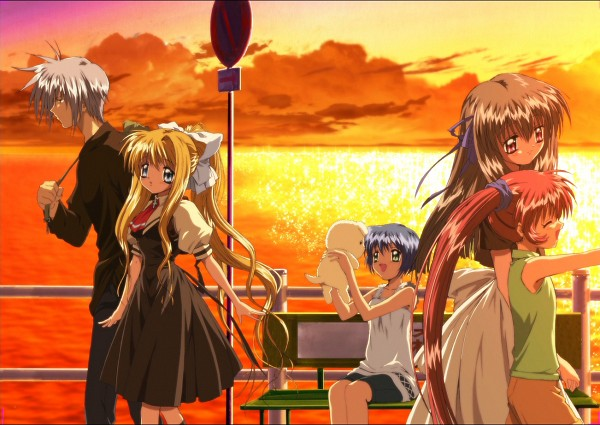 Tags: Anime, Kyoto Animation, KEY (Studio), AIR, Kamio Misuzu, Michiru (AIR), Kirishima Kano