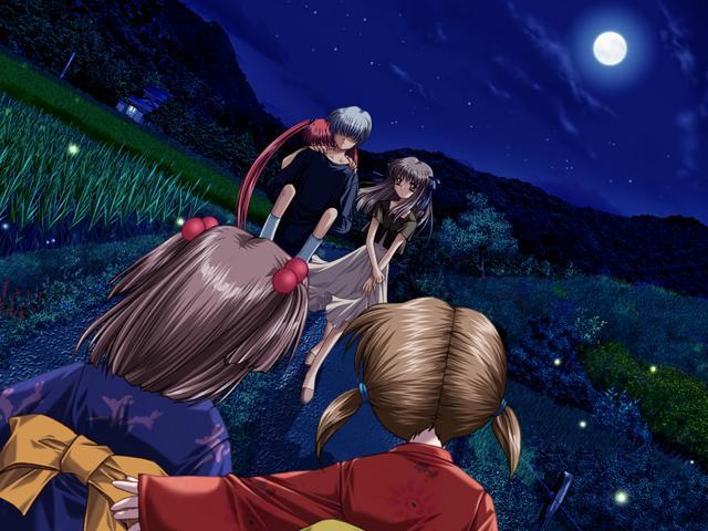 Tags: Anime, AIR, Kunisaki Yukito, Tohno Minagi, Michiru (AIR), CG Art